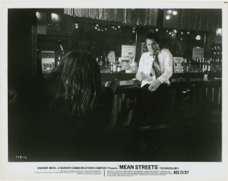 Mean Streets (Collection of 15 original still photographs from the 1973 film). Martin Scorsese,...