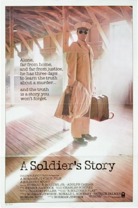 A Soldier's Story (Original poster for the 1984 film). Norman Jewison, Charles Fuller, Robert...