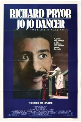 Jo Jo Dancer, Your Life Is Calling (Original poster for the 1986 film). Richard Pryor, Herbie...