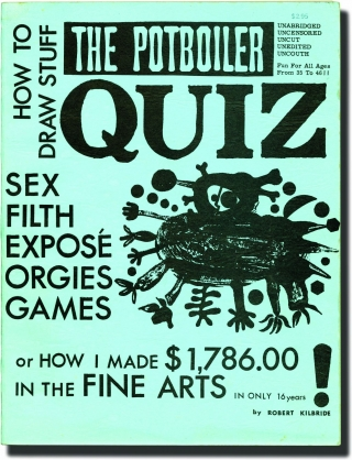 The Potboiler Quiz (First Edition). Robert Kilbride