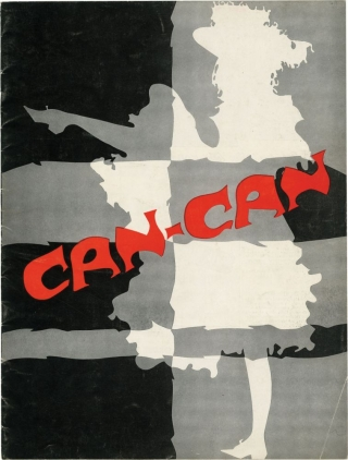 Can-Can (Original souvenir play program). Abe Burrows, Cole Porter, Michael Kidd, John Tyers Rita...