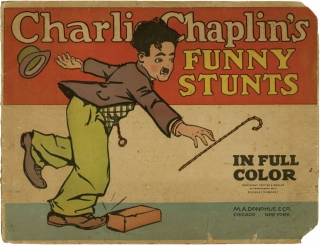 Five children's books featuring Charlie Chaplin. Charlie Chaplin