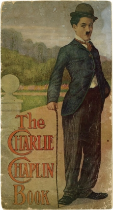 Five children's books featuring Charlie Chaplin