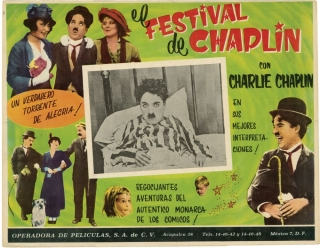 Collection of 10 Mexican Lobby Cards featuring Charlie Chaplin