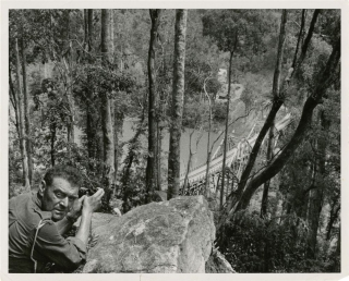 Bridge on the River Kwai (Collection of 14 candid photographs from the 1957 film). David Lean,...