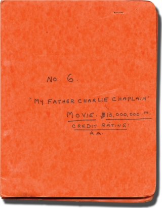Charlie Chaplin [My Father, Charlie Chaplin] (Original treatment script for an unproduced film)....