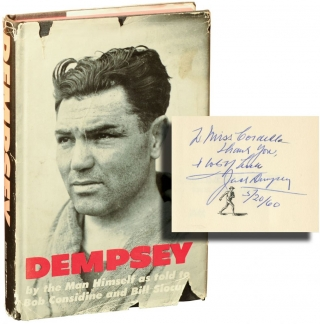Dempsey (Signed First Edition). Jack Dempsey, Bill Slocum Bob Considine, told to