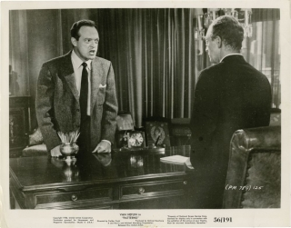 Patterns (Collection of 4 photographs from the 1956 film). Fielder Cook, Rod Serling, Everett...