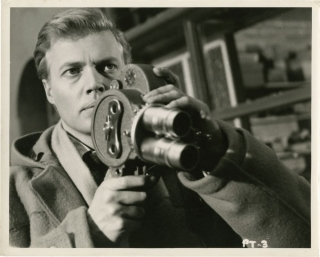 Peeping Tom (Set of 4 original photographs from the 1960 film). Michael Powell, Carl Boehm,...