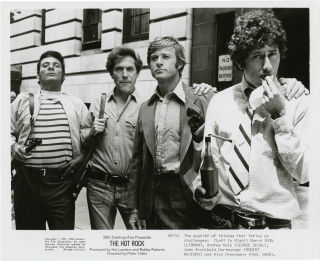 The Hot Rock (Collection of five original photographs from the 1972 film). Donald E. Westlake,...