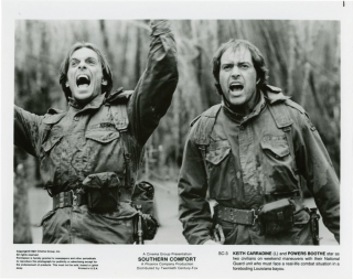 Southern Comfort (Collection of five original photographs from the 1981 film). Walter Hill, David...