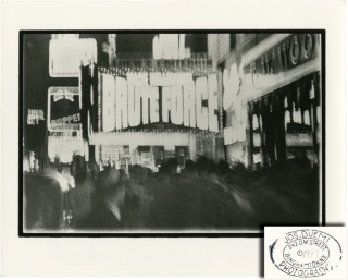 Brute Force (Original New York City marquee photograph by art photographer Joseph Buemi). Joseph...