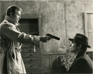 Le Samourai (Collection of 8 French reference photographs from the 1967 film). Jean-Pierre...
