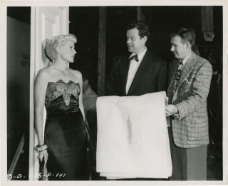The Lady from Shanghai (Original photograph of Orson Welles and Rita Hayworth from the set of the...