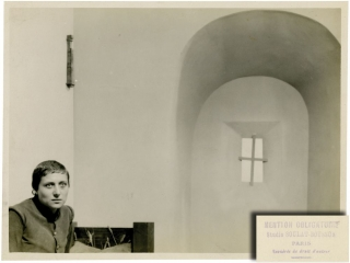 The Passion of Joan of Arc [La passion de Jeanne d'Arc] (Original double weight photograph from the 1928 film). Carl Theodor Dreyer, Maurice Boussus Jean Soulat, Maria Falconetti, director, photographers, starring.