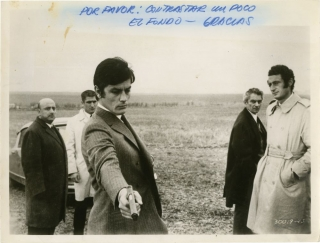 Jeff [Los Traidores] (Original photograph from the 1969 film). Jean Herman, Jean Cau Andre G....