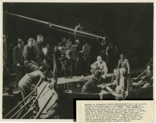 Great Expectations (Two original photographs of David Lean, Alec Guinness, John Mills, and others...