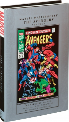 The Avengers Nos. 51-58, Annual No. 2 & The X-Men No. 45 [Marvel Masterworks Volume 6] (First...