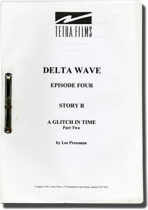 Four scripts from the television show Delta Wave
