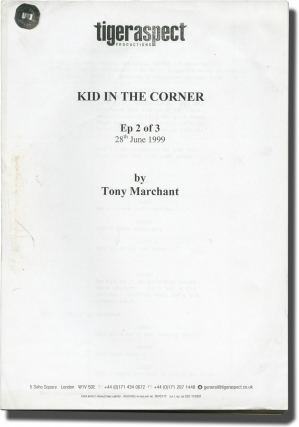 Kid in the Corner (Original screenplays for two episodes of the three-part television...