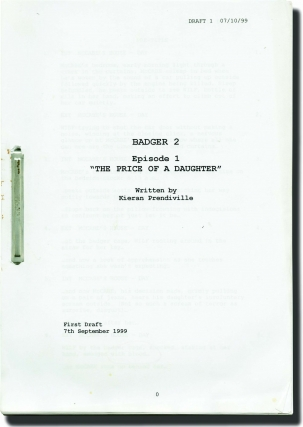 "Badger Season 2: ""The Price of a Daughter"" and ""Only Ewe"" (Original screenplays for two episodes..."