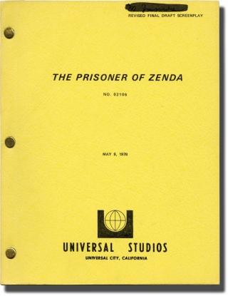 The Prisoner of Zenda (Original screenplay for the 1979 film). Richard Quine, Anthony Hope, Ian...