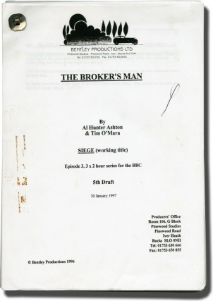 The Broker's Man: Siege (Original screenplay for the 1997 television episode). Roger Gartland,...