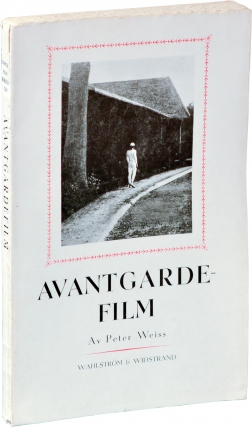 Avantgardefilm [avant-garde film] (First Swedish Edition). Peter Weiss