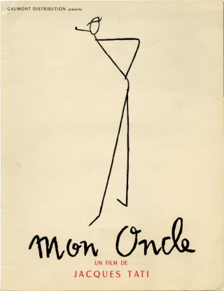 Mon Oncle (Original French pressbook from the 1958 film). Jacques Tati, Jean L'Hote Jacques...