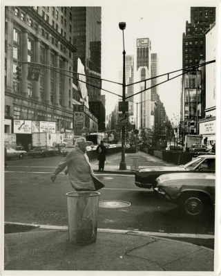 Trafic [Traffic] (Original press photograph promoting the US release of the 1971 film). Jacques...