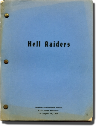 Suicide Battalion [Hell Raiders] (Original screenplay for the 1958 film). Edward L. Cahn, Lou...