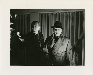 You and Me (Original photograph from the set of the 1938 film). Fritz Lang, Norman Krasna, C....