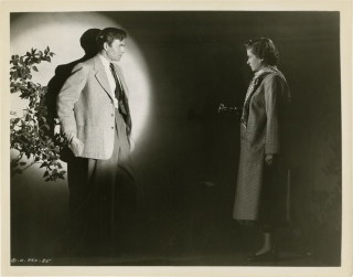 The Reckless Moment (Collection of six original photographs from the 1949 film noir). Max Ophuls,...
