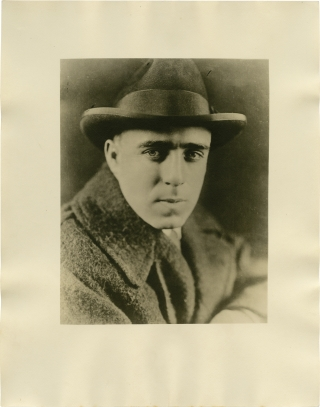 Early photograph of Raoul Walsh (Original double weight photograph). Raoul Walsh, subject.