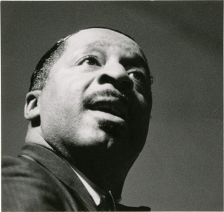 Erroll Garner (Original photograph). Michael Montfort, Erroll Garner, photographer, subject