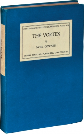 The Vortex (First UK Edition, review copy). Noel Coward