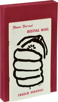 Flower, Fist and Bestial Wail (First Edition, author's edition with original illustration by...
