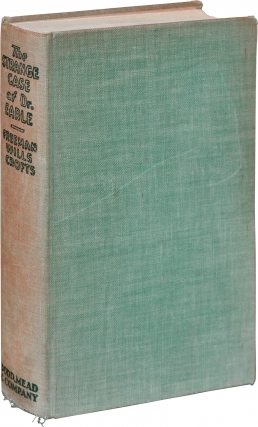 The Strange Case of Dr. Earle (First Edition). Freeman Wills Crofts