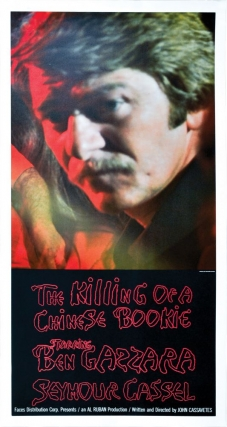 "The Killing of a Chinese Bookie (Original poster for the 1976 film, ""Seymour Cassell"" style)...."