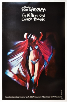 "The Killing of a Chinese Bookie (Original Faces poster, ""blurred dancer"" variant). John..."