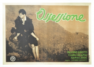 Ossessione [The Postman Always Rings Twice] (Complete set of original 3 Italian Fotobusta...