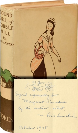 Bound Girl of Cobble Hill (Signed First Edition). Lois Lenski