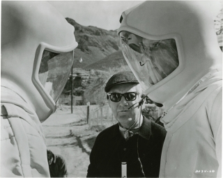 The Andromeda Strain (Set of 7 reference photographs from the set of the 1971 film). Robert Wise,...