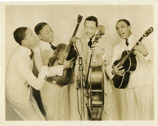 The Ink Spots (Collection of 3 original promotional photos). The Ink Spots.
