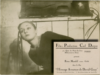 Vampyr (Original French still photograph from the 1932 film). Carl Theodor Dreyer, Rena Mandel,...