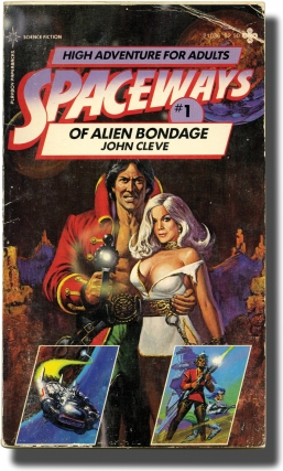 Spaceways: Volumes 1-5 (First Edition, five volumes, inscribed by Andrew J. Offutt to his son,...