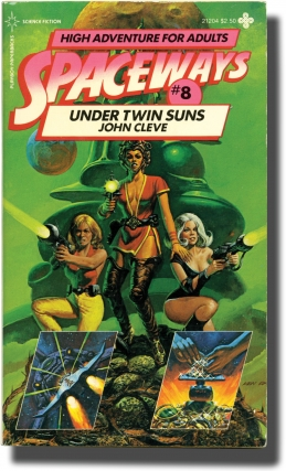 Spaceways: Volume 8 - Under Twin Suns (First Edition). Andrew J. Offutt, John Cleve