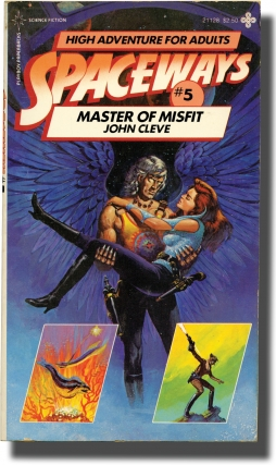 Spaceways: Volume 5 - Master of Misfit (First Edition). Andrew J. Offutt, John Cleve