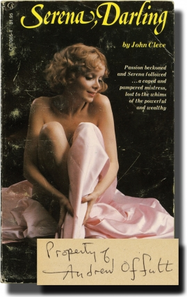 Serena, Darling (Vintage Paperback, author's personal copy). Andrew J. Offutt, John Cleve