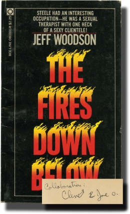 The Fires Down Below (First Edition, author's personal copy). Andrew J. Offutt, Jeff Woodson